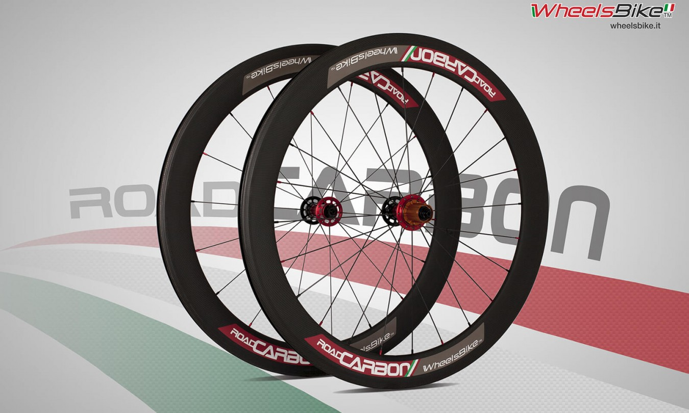 road carbon rosso